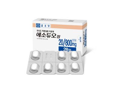 종근당 역류성 식도염 개량신약… 빠른 약효·위산분비 억제효과